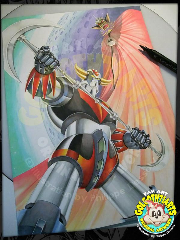 Fan Art Goldorak
