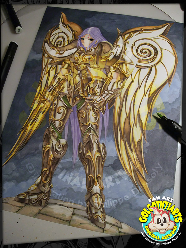 Fan Art Saint Seiya 01