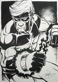 Dessins originaux à vendre Marvel Manga